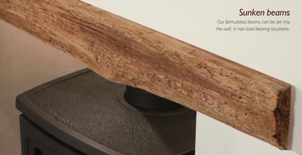 Wood Effect Beams