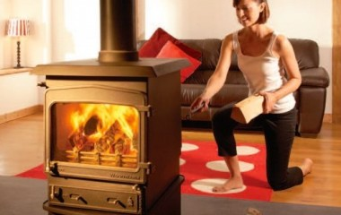 Woodwarm Fireview Double Sided
